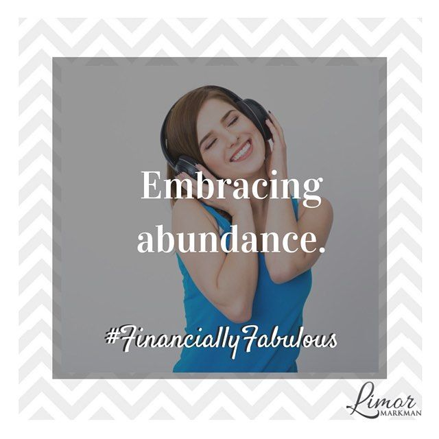 There is more than enough for all of us to be #FinanciallyFabulous! So embrace abundance and be grateful.  Your #mindset influences you #bankaccount.