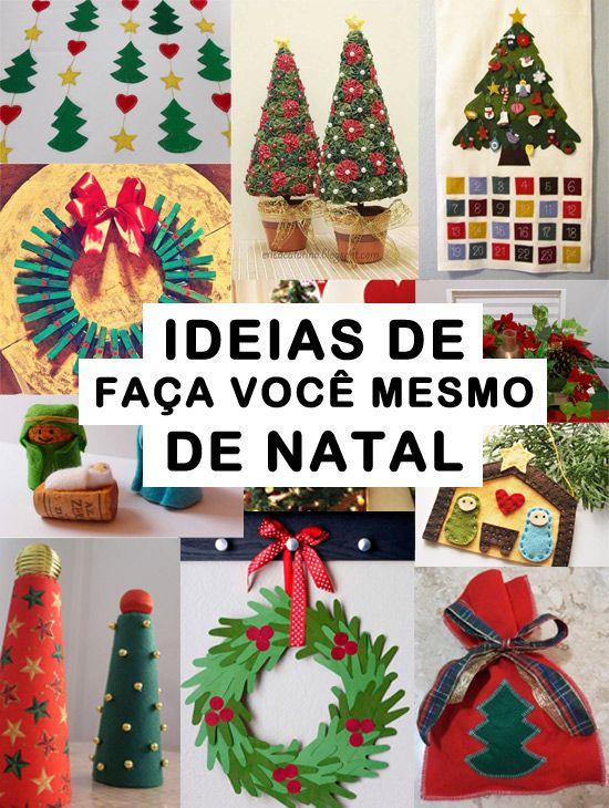 Ideias de faça você mesmo para decorar a casa para o natal