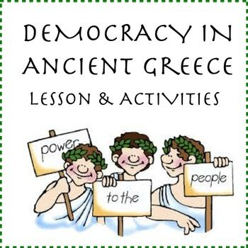 $2 easier simulaitoThis lesson includes a visually engaging Prezi, simulation activity and worksheets to teach students about democracy in Ancient Greece and compare it with democracy today. The Prezi can be accessed online and, along with the teacher guide, leads you and your students through the lesson.I have made the simulation activity to have students take part in their own Ancient Greek democratic process in class which always gives my kids a better understanding of how the process…