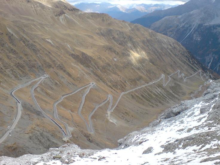 Stelvio pass, Switzerland to Italy