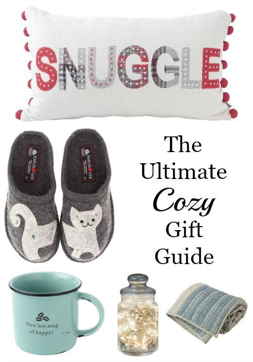 The Perfect Christmas Gift For Her Part - 30: The Ultimate Gift Guide For All Things Cozy