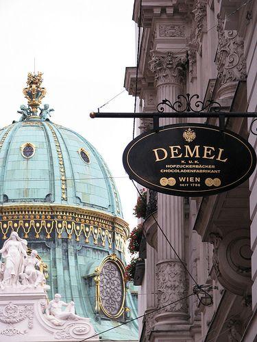 Demel Schokolade/chocolate in Wien*