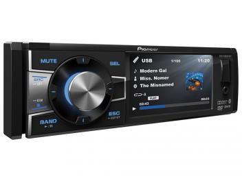 """DVD Automotivo Pioneer DVH-8880AVBT Tela 3,5"""" - Bluetooth 92 Watts RMS Entrada para Câmera de Ré"""