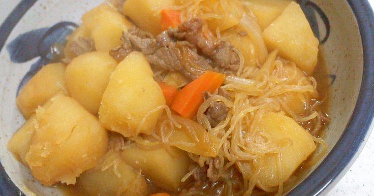★☆2012.9.30話題入り100感謝です☆★     お肉もじゃが芋も味が染みて簡単にできる美味しい肉じゃがです。
