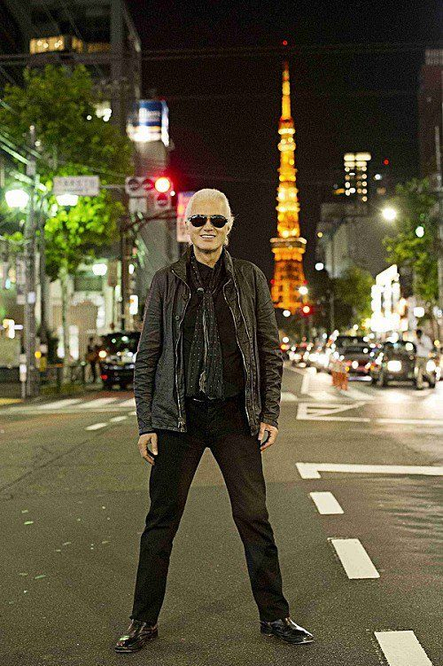 Jimmy Page in Tokyo at the Classic Rock Awards Nov. 11, 2016
