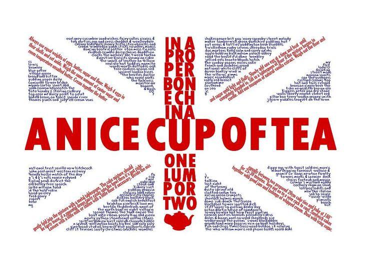 Quintessentially British Union Jack Print