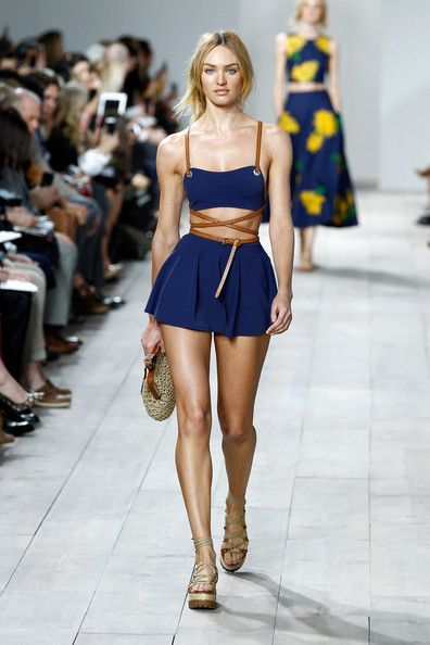 Candice Swanepoel Photos: Michael Kors Spring 2015 Fashion Show - Runway