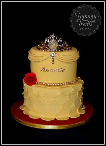 Princess Belle Cake!