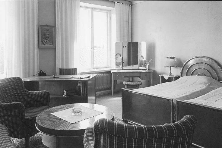 Hotelli Jyväshovi, Jyväskylä, vanha huonekuva