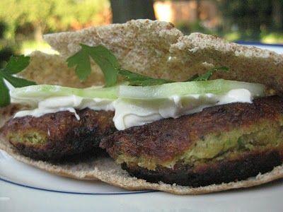 Easy Homemade Falafel with Yogurt Tahini Sauce — Great for vegetarians or meat eaters alike! (Click on image for recipe) via @Jessica E