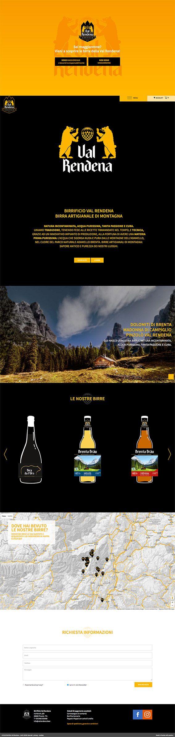 #valrendenabeer www.valrendena.beer #Kumbe #portfolioweb #webdesign #website #responsivedesign #responsive #birrificiovalrendena #birrificioartigianale #birrificio #birra #beer #bier #artigianale #brentabrau #dolomitidibrenta #dolomiti #ecommerce #valrendena #pinzolo #madonnadicampiglio #trentino #italia #malto #orzo #acqua #water #malt #barley #luppolo #hops #vienna #helles #biradalors #weizen #birradinatale #birrasenzaglutine #glutenfree #love #fun #firends #passione #natura #passion