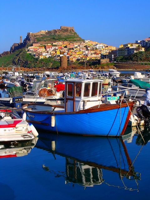 Castelsardo, #Sardinia, Italy - Gotta be one of my favorite places on earth. Great people, great food, great scenery... Take your chick or find one easily. If you pick the latter, please understand that you're on vacation. DO NOT fall in love... prolly easier said than done here. LOL!