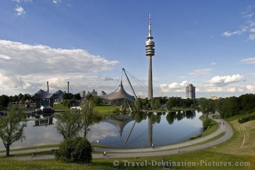 Olympic park in Munich Germany.. went there
