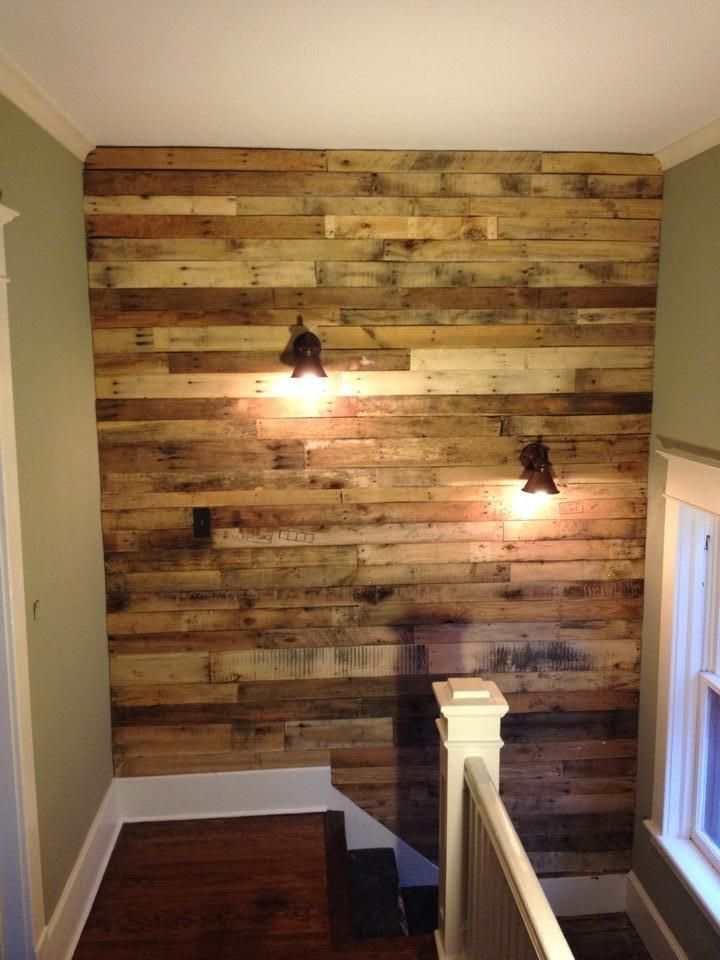 How to Make a Pallet Wall (in One Weekend!) – How To Build It