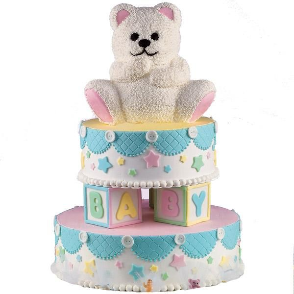 How To Decorate Wilton Teddy Bear Cake