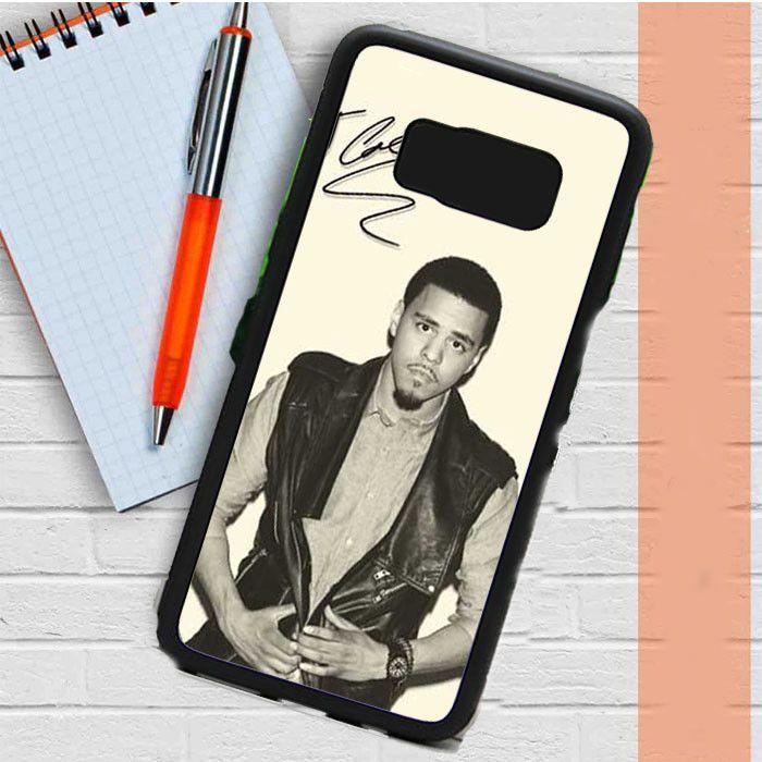 J Cole Autograph Samsung Galaxy S8 Plus Case Dewantary