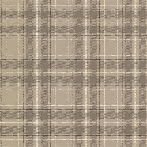 Caledonia Grey Plaid 260421226 Plaid wallpaper, Grey