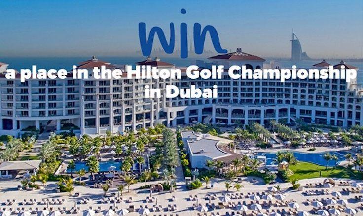 ENTER NOW for a chance to WIN in the Dubai Hilton Golf Championship Sweepstakes for next November via edealo.com  #dubai #uae #golf #golfing #dubaitag #hilton #mydubai #uaewedding #sportster #dxb #abudhabi #golfer #golfcourse #dubaistyle #dubaifashion #dubaiwedding #pga #ramadan #pgatour #golfswing #golfers #golflife #golfday #golfcart #golfislife #luxurylifestyle #luxurylife
