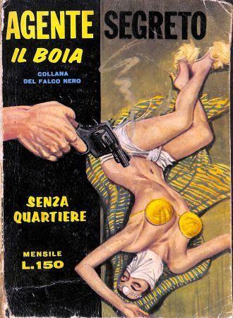 COLLEZIONISMO: AGENTE SEGRETO IL BOIA http://c4comic.it/collezionismo/collezionismo-agente-segreto-il-boia/