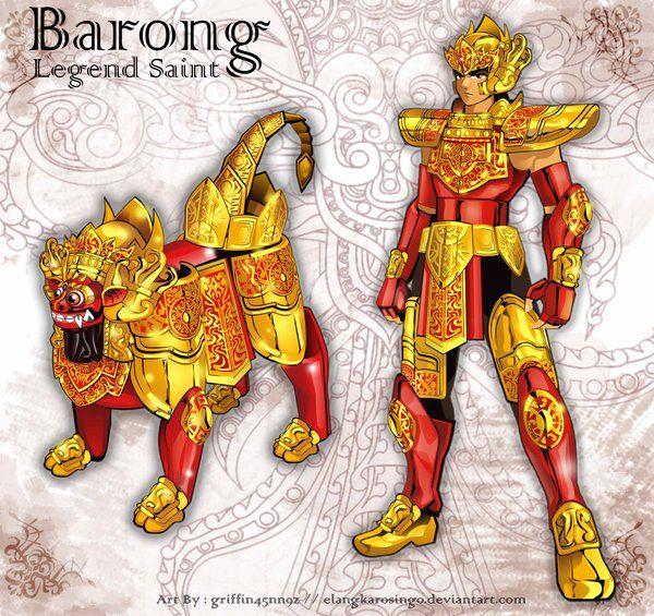 Barong King of The Spirits by elangkarosingo on DeviantArt