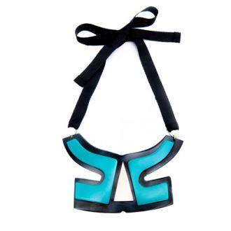 Maxi collar de resinas VIENTO papiroga
