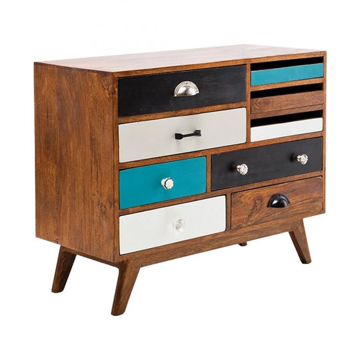 Jasmine Multi Coloured Sideboard - from Cult Furniture UK