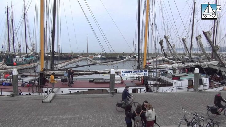 Timelaps van onze schepen in de haven van Vlieland tijdens Into the Great Wide Open.