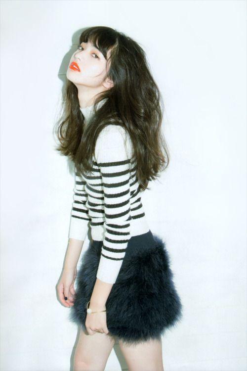 "licoricewall: ""小松菜奈 (Nana Komatsu): ar - Oct 2014 / Lily Brown """