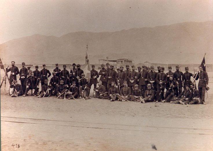 Regimiento 4º de Línea, tomada en Antofagasta en 1879