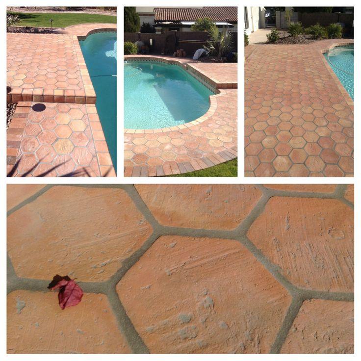 Saltillo Tile Terracotta Tiles Installed Upside Down For