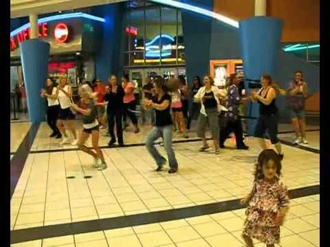 World's Largest Flash Mob Brevard April 21, 2012 at Merritt Square Mall