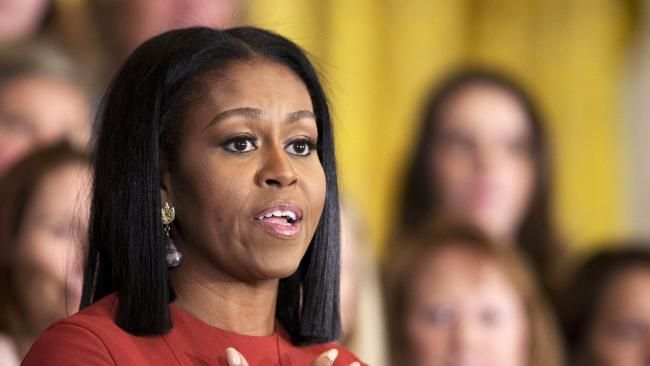 The CRYING GAME Did emotional Michelle Obama just her launch her - michelle obama resume