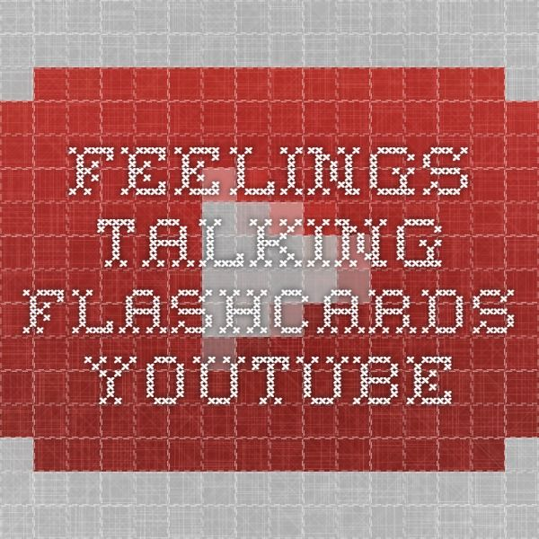 Feelings - Talking Flashcards - YouTube