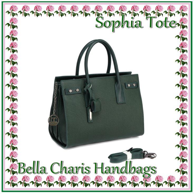 Bella Charis Sophia Leather Tote [4 colours]
