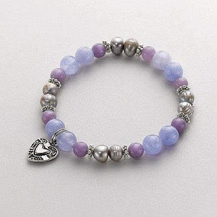 Buy Brand Pearl & Soapstone Bracelet from Pia Jewellery
