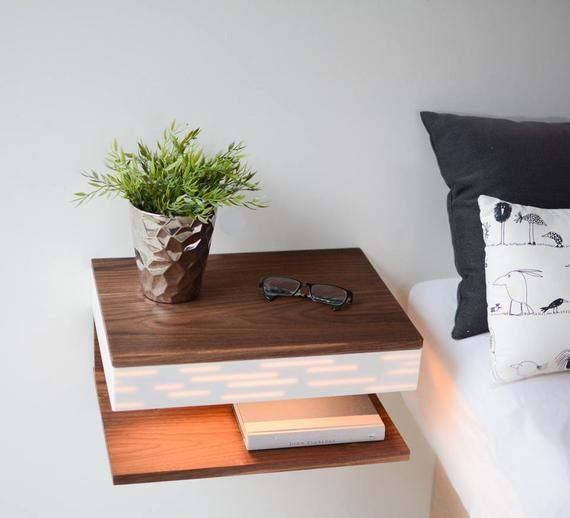 Modern Nightstand Floating Nightstand Floating Night Stand