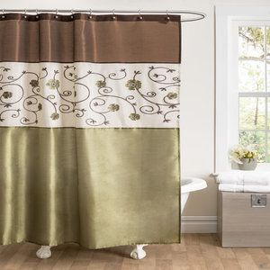 Special Edition By Lush Decor Royal Garden Polyester Shower Curtain