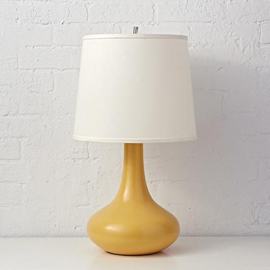 Eden Table Lamp (Yellow) | The Land of Nod