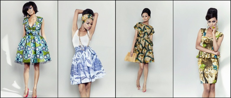 African Prints in Fashion: Back to the 50s with Sika Designs