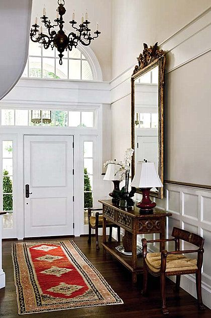 front hallway/entry