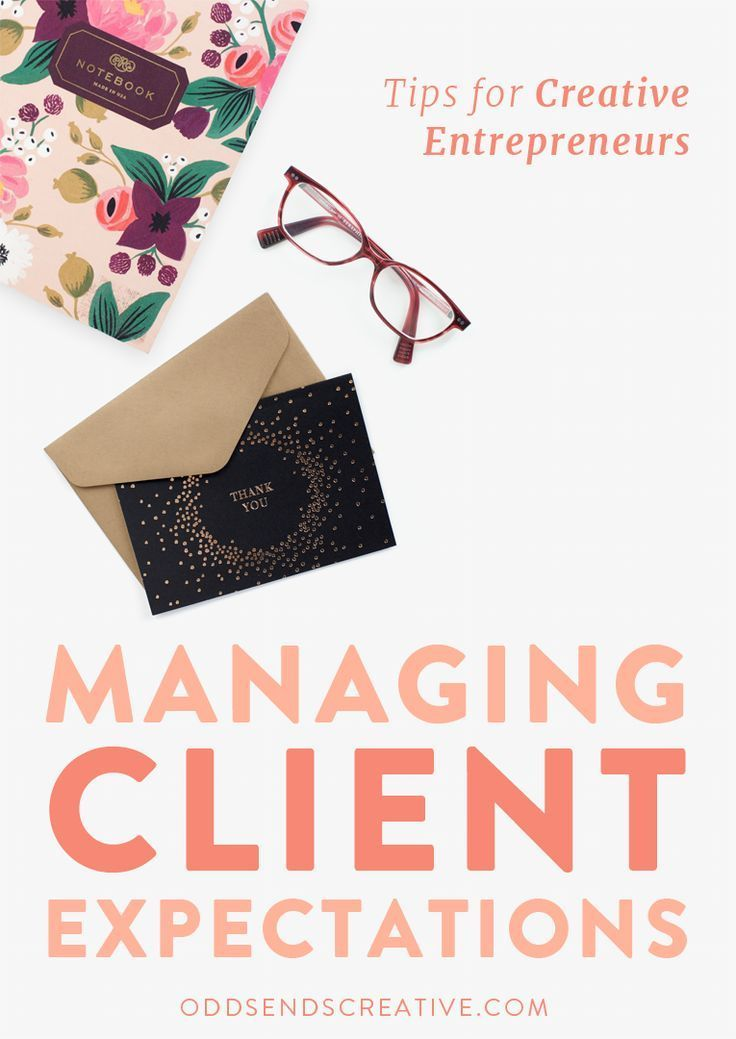 """Approaching tricky client situations is one of the largest topics of discussions online with creative entrepreneurs and small business owners. Many people are unsure about how to deal with clients that just don't seem to """"get it"""". But here's the secret: it's not the client's job to get it, it's yours! Click to read the Top Six Secrets of Managing Client Expectations! ..."""