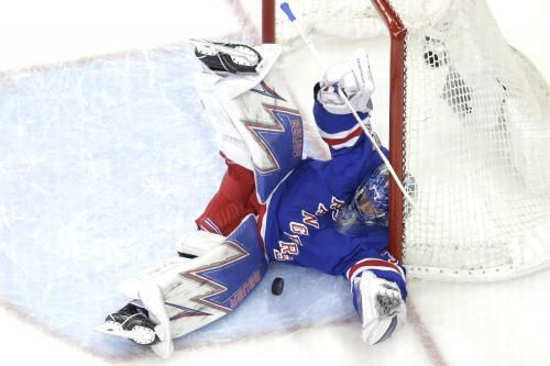 New York Rangers goaltender Henrik Lundqvist sustained a sprained knee ligament while leading Sweden to the gold medal at the 2017 IIHF…
