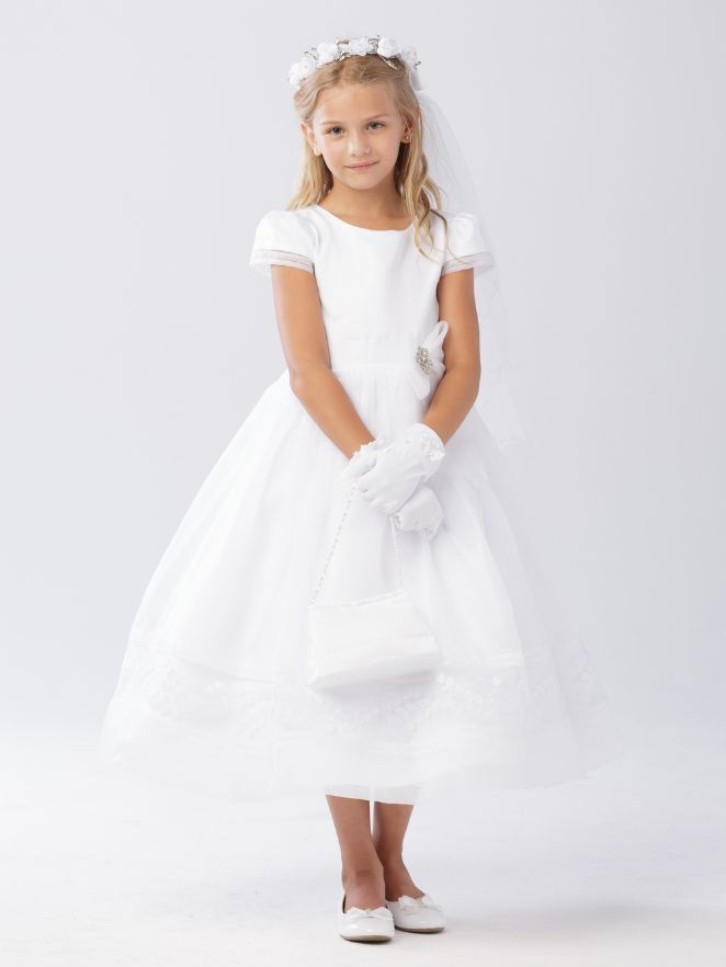 d29fd678a224 Check out the deal on Tip Top 5605 Girls Communion Dress at French Novelty
