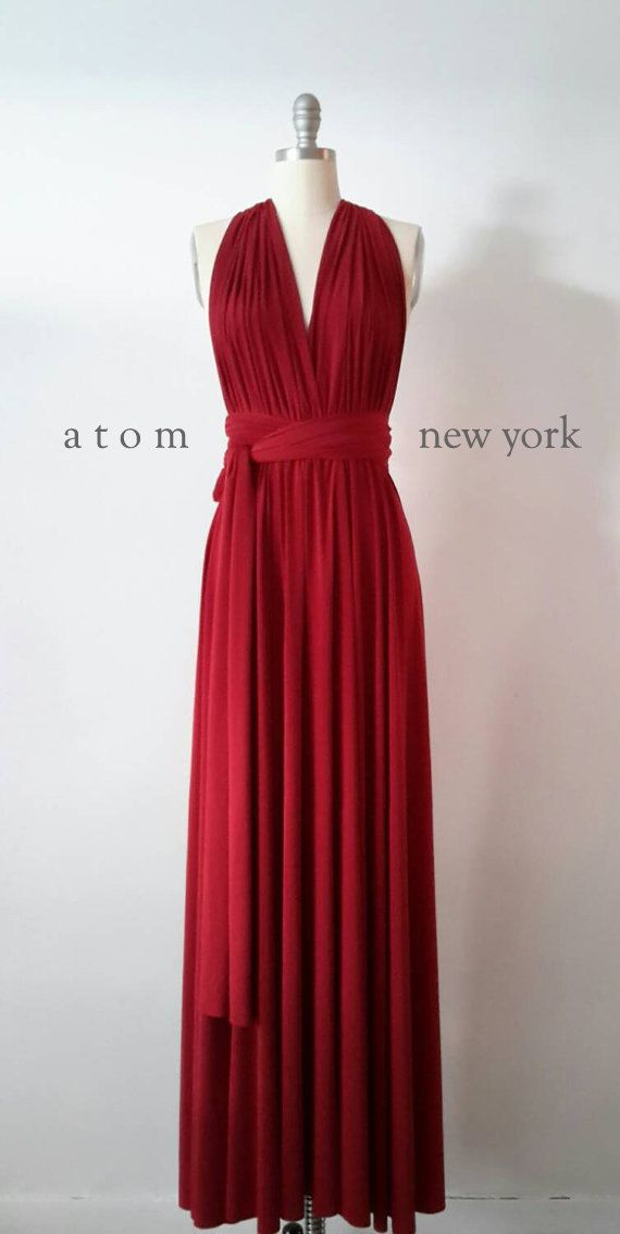 Hey, I found this really awesome Etsy listing at https://www.etsy.com/listing/215330573/ruby-red-floor-length-ball-gown-infinity