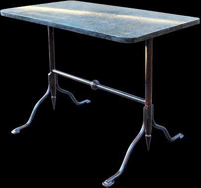 Dettaglio articolo 8461 - Telemaco Signorini bistrot table - #recuperando.com www.recuperando.com