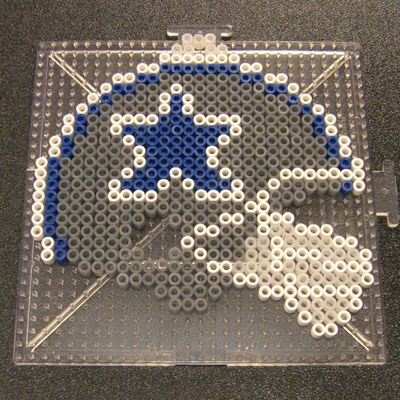 Cowboys Helmet Perler1 by Flood7585