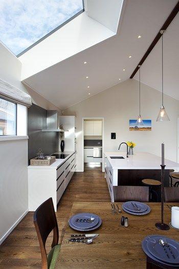 Kitchen with Skylight - Kitchen Design Ideas