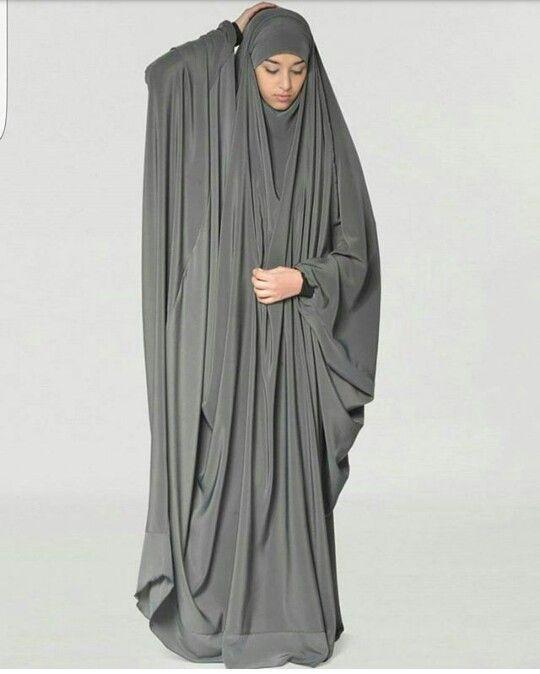 Overhead abaya