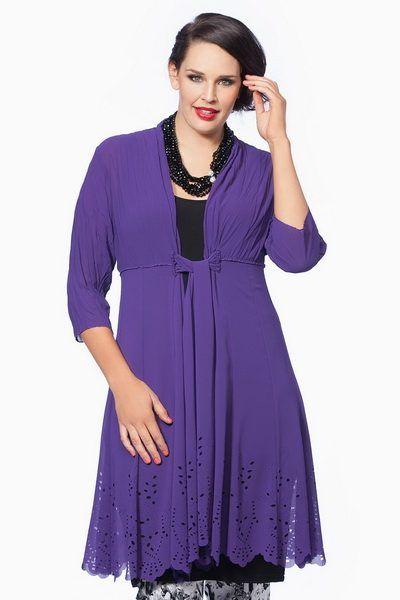 Модели одежды для полных создаются для того, чтобы еще раз доказать, что некрасивых женщин не бывает. Дизайнеры разрабатывают одежду, специально предназначенную для дам с пышными формами,