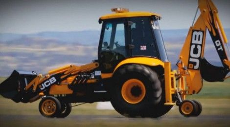 JCB GT world's fastest digger as it reaches 116.8 kmph